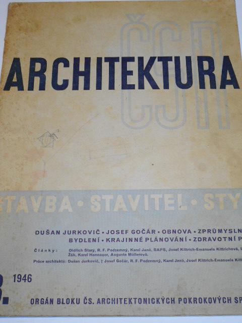 Architektura ČSR - 1946