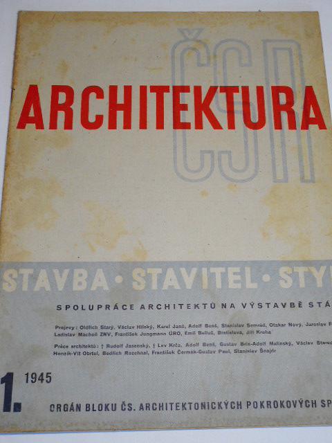 Architektura ČSR - 1945