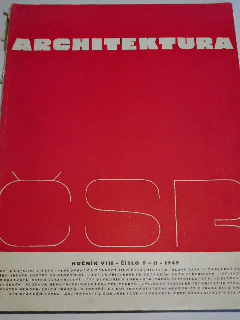 Architektura ČSR - 1949