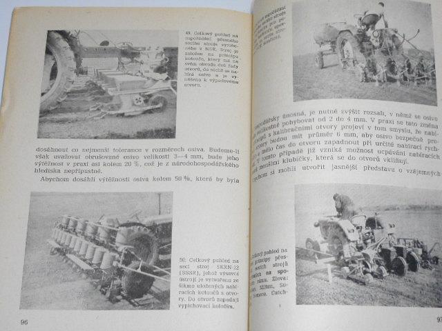 Stroje na přesné setí - Jaroslav Kočí - 1962