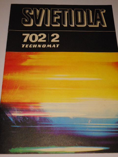 Svietidlá - priemyselné žiarivkové, priemyselné výbojkové - Technomat - katalog - 1977