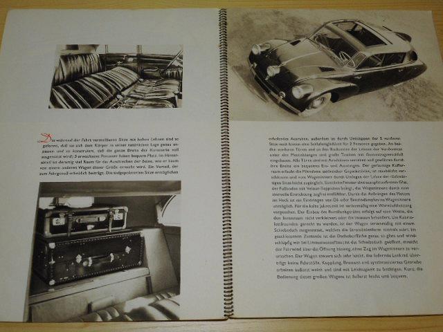 Tatra 87 Vollstromliniewagen Achtzylinder Heckmotor - prospekt