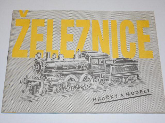 Železnice - hračky a modely - 1989
