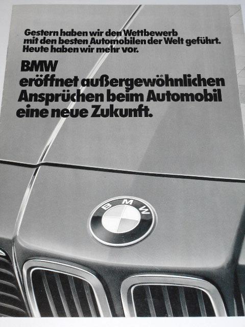 BMW 728i, 732i, 735i, 745i - prospekt