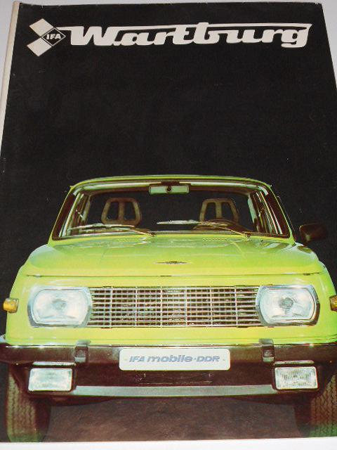 Wartburg 353 W - prospekt - 1982