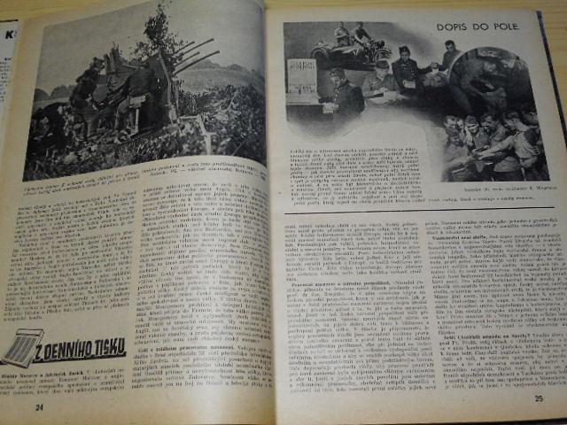 Vládní vojsko - 1944, 1945 - časopisy