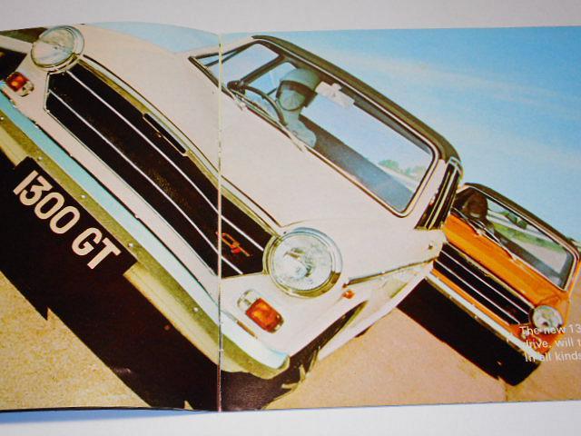 Austin 1300 GT - prospekt - 1969