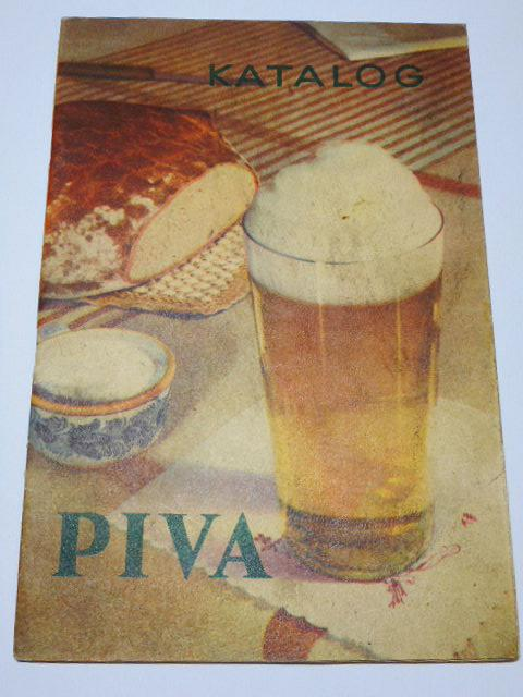 Katalog piva - 1955