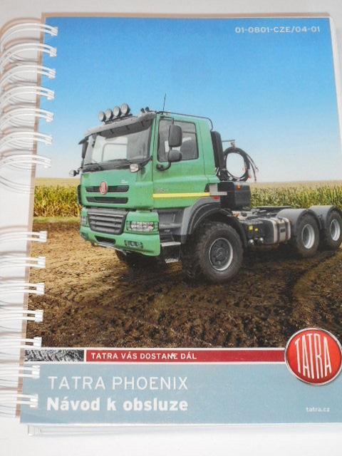 Tatra Phoenix - návod k obsluze - 2015