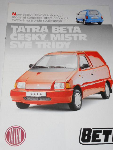 Tatra Beta - prospekt