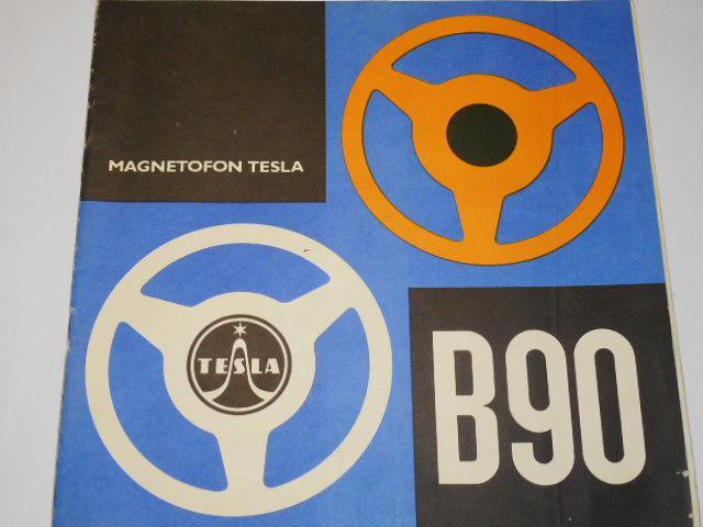 Tesla - magnetofon B 90 - návod k obsluze