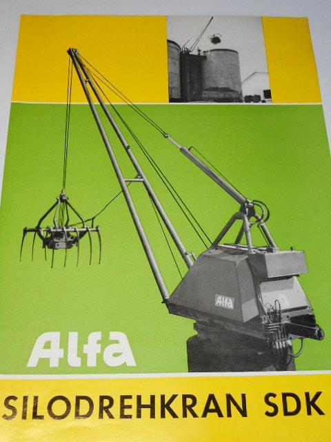 Alfa - Silodrehkran SDK 1 - prospekt - 1969
