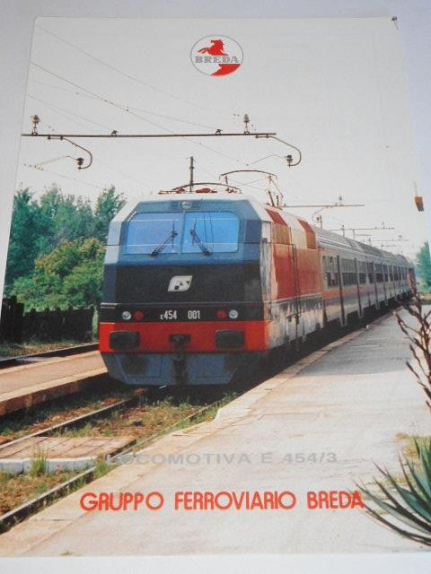 Breda - locomotiva E 454/3 - prospekt