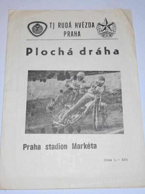 Plochá dráha - Praha Markéta - 28. 4. 1985 - startovní listina