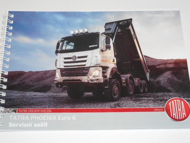 Tatra Phoenix - servisní sešit - 2014
