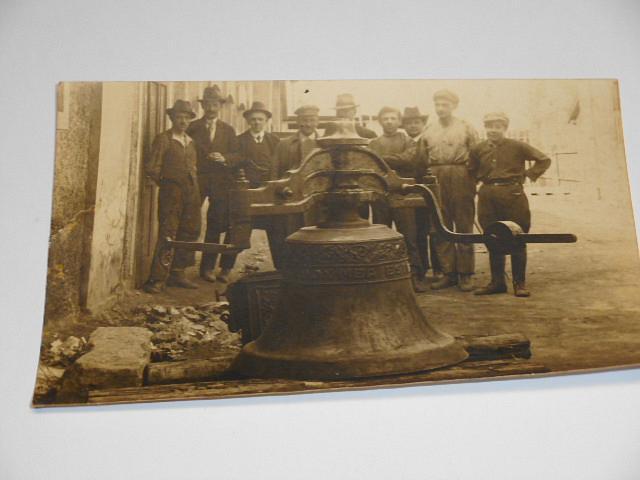 Buřil, Švagerka a spol slévárna zvonů - pohlednice