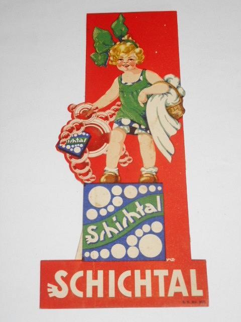 Schichtal - papírová reklama