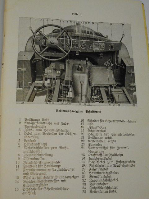 Einheitsfahrgestell für mittleren Personenkraftwagen Typ 40 Gerätebeschreibung und Bedienungsanweisung - 1941 - D 663/3 - Wehrmacht