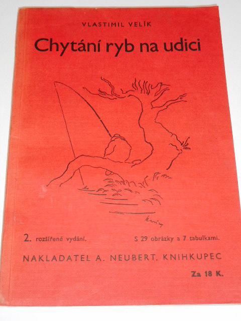 Chytání ryb na udici - Vlastimil Velík - 1942