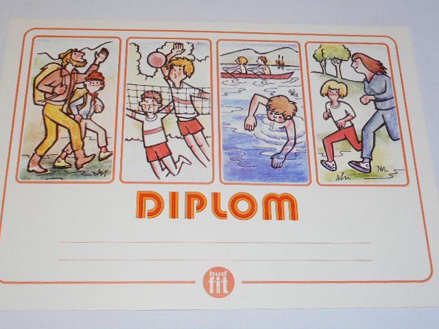 Diplom - buď fit