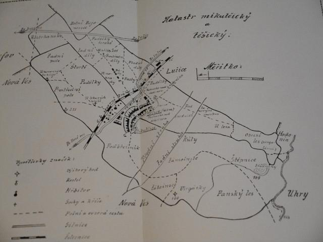 Dějiny a popis Těšic a Mikulčic - Josef Škvrna - 1913