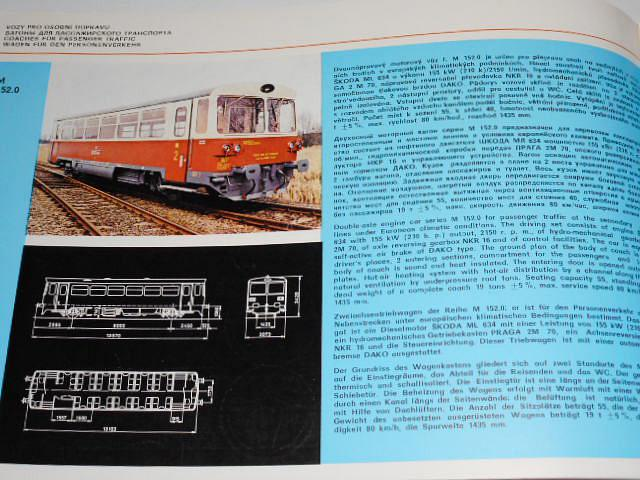 Vagónka Studénka - katalog výrobků - 1981