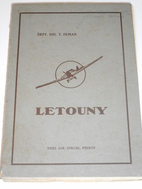 Letouny - T. Zeman - 1931