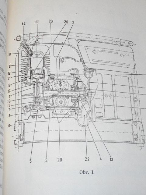 Motor ZB 5 - všeobecný popis, technické údaje, návod k obsluze, odstranění bežných poruch