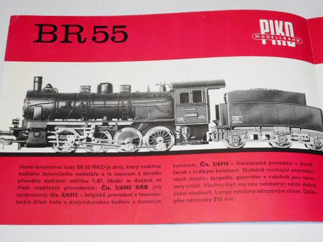 PIKO Modellbahn - a zde jsou poslední novinky - prospekt - 1967