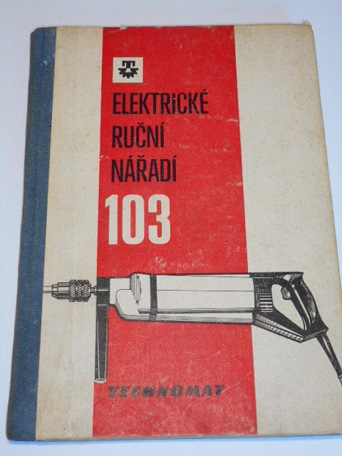 Elektrické ruční nářadí - Technomat - Narex - 1980