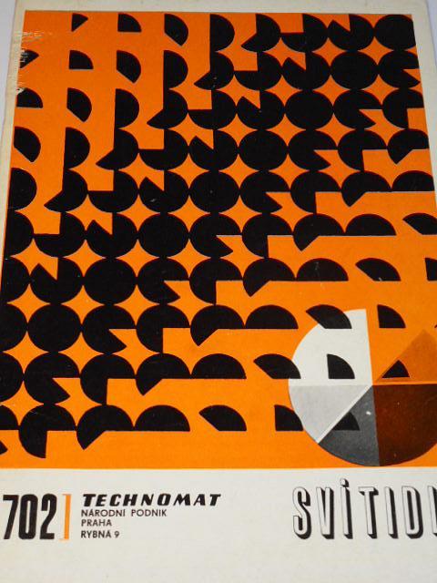 Svítidla - 3. díl - Technomat - 1971