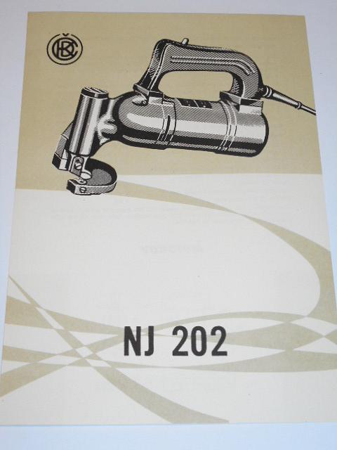 ČKD - NJ 202 - prospekt - Motokov