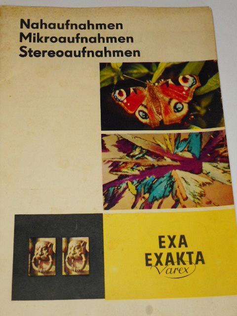Exa, Exakta Varex - Nahaufnahmen, Mikroaufnahmen, Stereoaufnahmen - prospekt - 1965