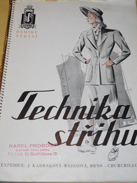 Technika střihu - dámské vydání - Václav Kadrnka