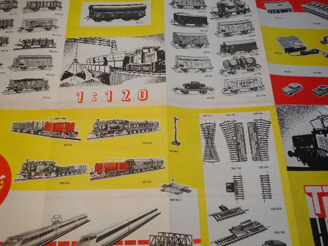 Zeuke a Wegwerth - TT Zeuke - 1967 - modelová železnice - prospekt