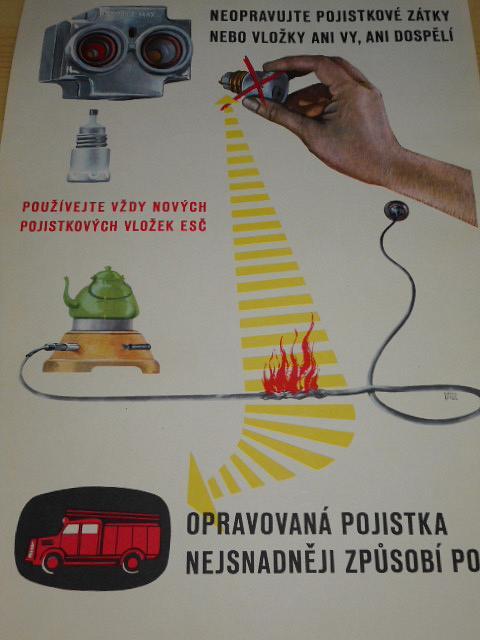 Opatrně s elektřinou - obrazový soubor - Theodor Rotrekl, František Kanta - 1959