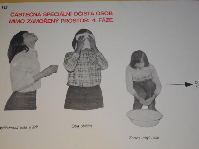 Částečná speciální očista - I. - po zasažení radioaktivními látkami