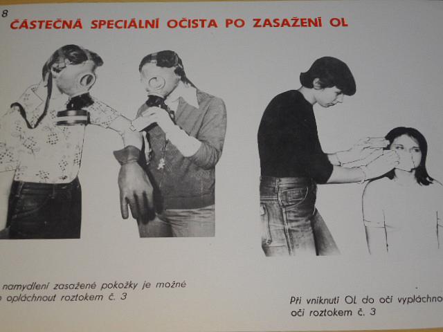 Částečná speciální očista - II. - po zasažení radioaktivními látkami