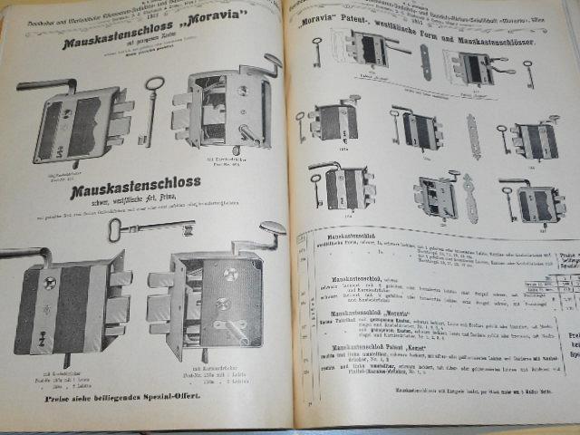 Vorzugs - Preise - K. K. Privilegierte Homboker und Marienthaler Eisenwaren - Industrie - und Handels - Aktien - Gesellschaft - Moravia - Wien - 1911 - Vormals J. C. Machanek a comp.