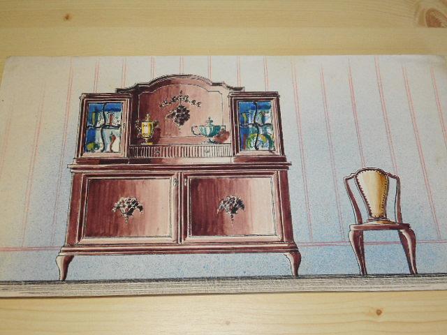 Nábytek - pravděpodobně příloha katalogu
