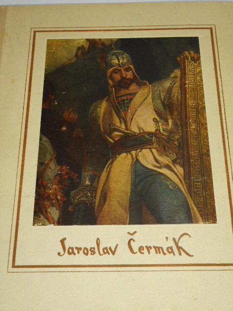 Jaroslav Čermák - 41 knihtiskových reprodukcí - 1953