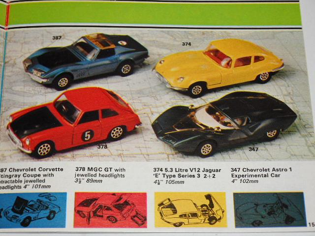 Corgi Catalogue 1973