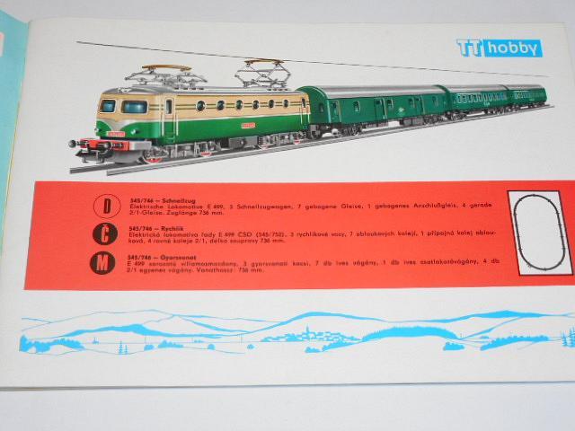 Zeuke a Wegwerth - TT Zeuke 1969/70 - modelová železnice - prospekt