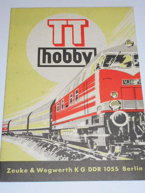 Zeuke a Wegwerth - TT Zeuke - 1969 - modelová železnice - prospekt