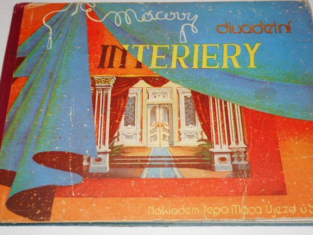Mácovy divadelní příručky - II. díl - interiery - Pepa Máca - 1946