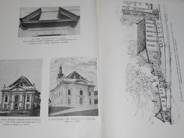 Václava Fr. Letochy Památky města Brodu Uherského - 1942
