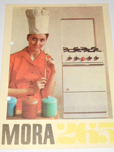 Plynový sporák Mora 265 - prospekt
