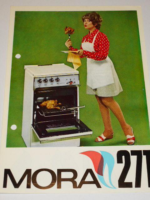 Plynový sporák Mora 271 - prospekt