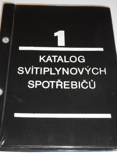 Katalog svítiplynových spotřebičů - 1. díl - technické popisy - 2. díl - postupy pro úpravu na zemní plyn - 1976 - 1977