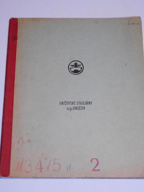 Hlavní způsoby práce kolesových velkorypadel - Uničovské strojírny, n. p. Uničov